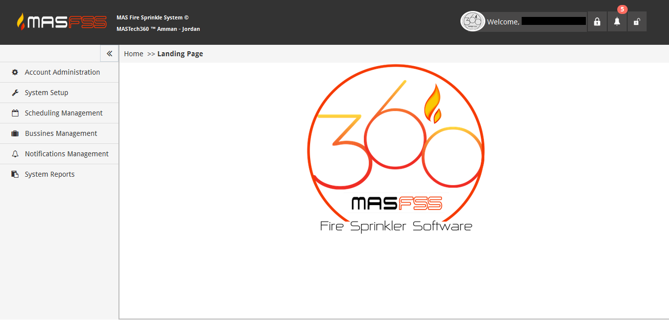 MAS Fire Sprinkle Software